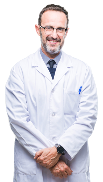 Rad - Middle-age-senior-hoary-professional-man-wearing-white-coat-over-isolated-background-with-a-happy-and-cool-smile-on-face.-Lucky-person.-1097599394_6939x5136-removebg copy